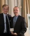 Professor Sweet (right) accepting award from Professor David Blight, Director of the Gilder Lehrman Center at Yale.