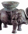 China-Africa Elephant Sculpture