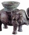 China-Africa Elephant Sculpture