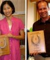 International Book Prizes Winners, Tina Lu & Thad Dunning