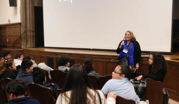 Students from New Haven public schools attend Latino & Iberian Film Festival