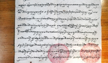 Yale scholar of Cambodia uncovers rare 19th-century Khmer-language documents
