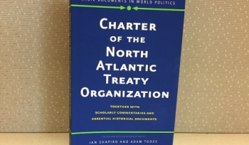 "New book: ""Charter of the North Atlantic Treaty Organization"""