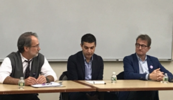 From left: Chris George, Kaveh Khoshnood, and Gregory Pappas